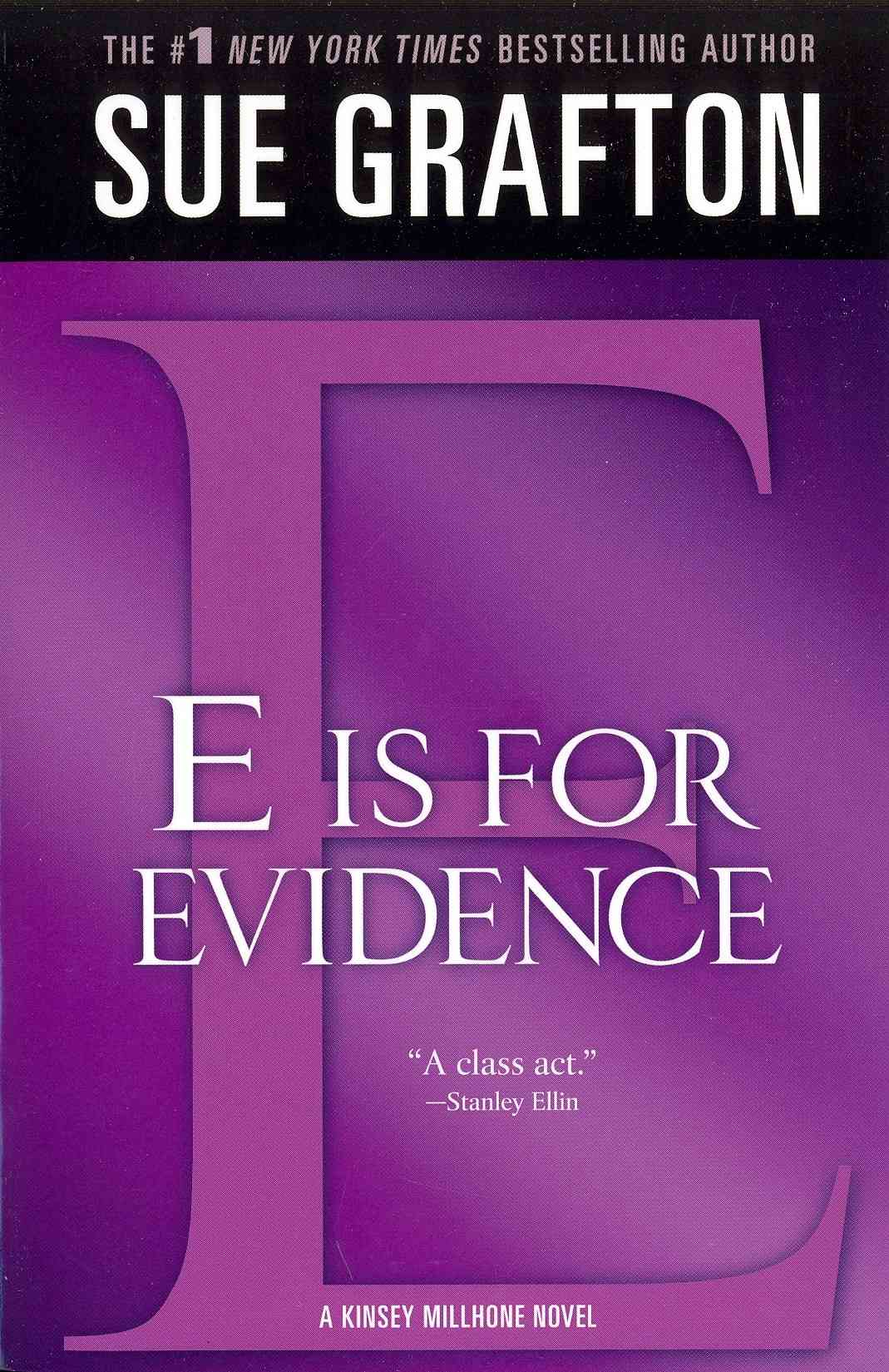 'E' Is for Evidence By Grafton, Sue